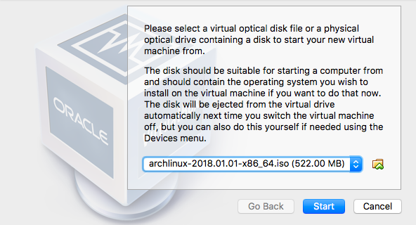 A Guide to Installing Arch in VirtualBox | Revised January 2018